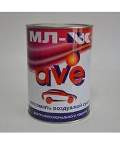 AVE МЛ-ВК  алкидная эмаль воздушной сушки (черный-матовый) 0.8kg.