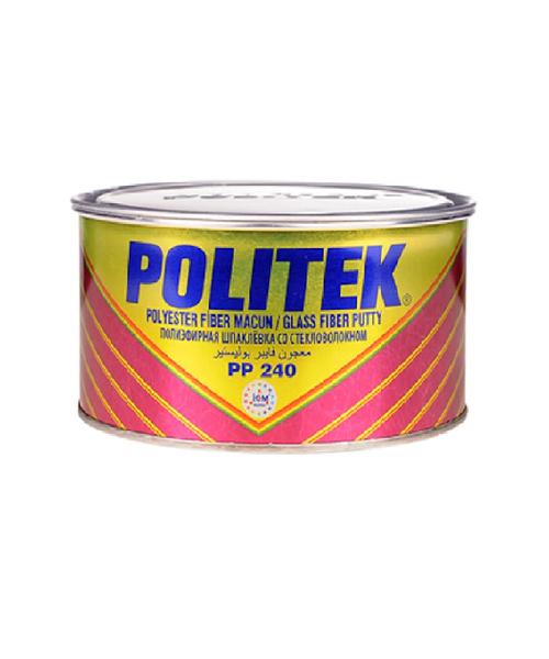 POLITEK шпатлевка со стекловолокном 500 гр