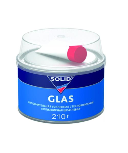 SOLID GLAS шпатлевка со стекловолокном 210 гр