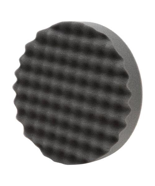 MIRKA Полировальная губка/липучка ребристая, (черная) 150 мм