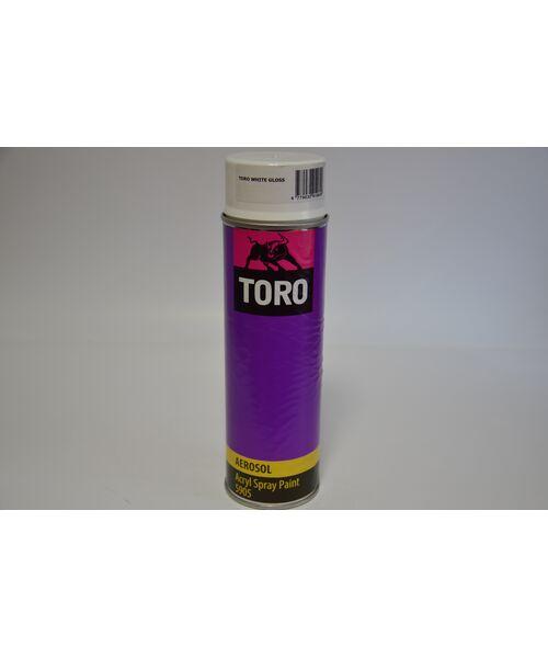 TORO Acryl Spray Paint  5905 (Белый глянец) 0.5L.