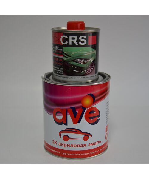 AVE 2К акриловая эмаль (белая ночь) 0.85kg. c отвердителем CRS AH 2K  0.2kg.